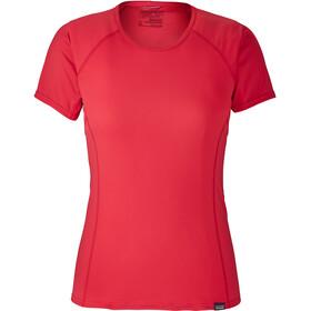 Patagonia Capilene Lightweight T-Shirt Women Maraschino